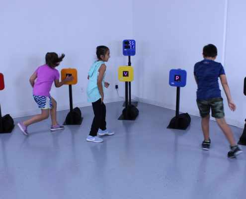 cibles jeux interactif Smartfit