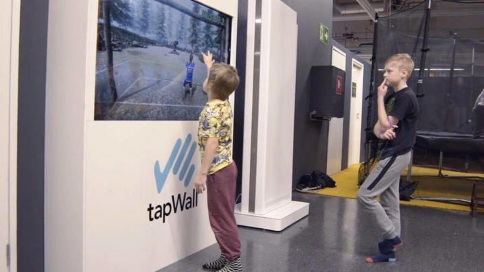 mur tactile TAPWALL
