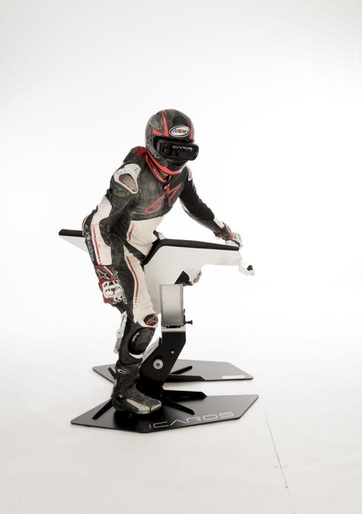 simulateur moto ICAROS