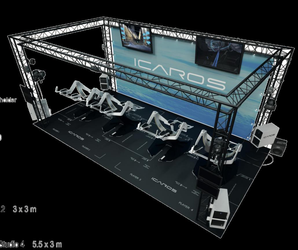 simulateur de vol ICAROS